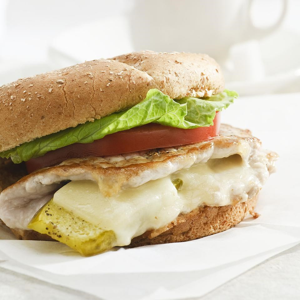 Stuffed Pork Sandwiches for Two