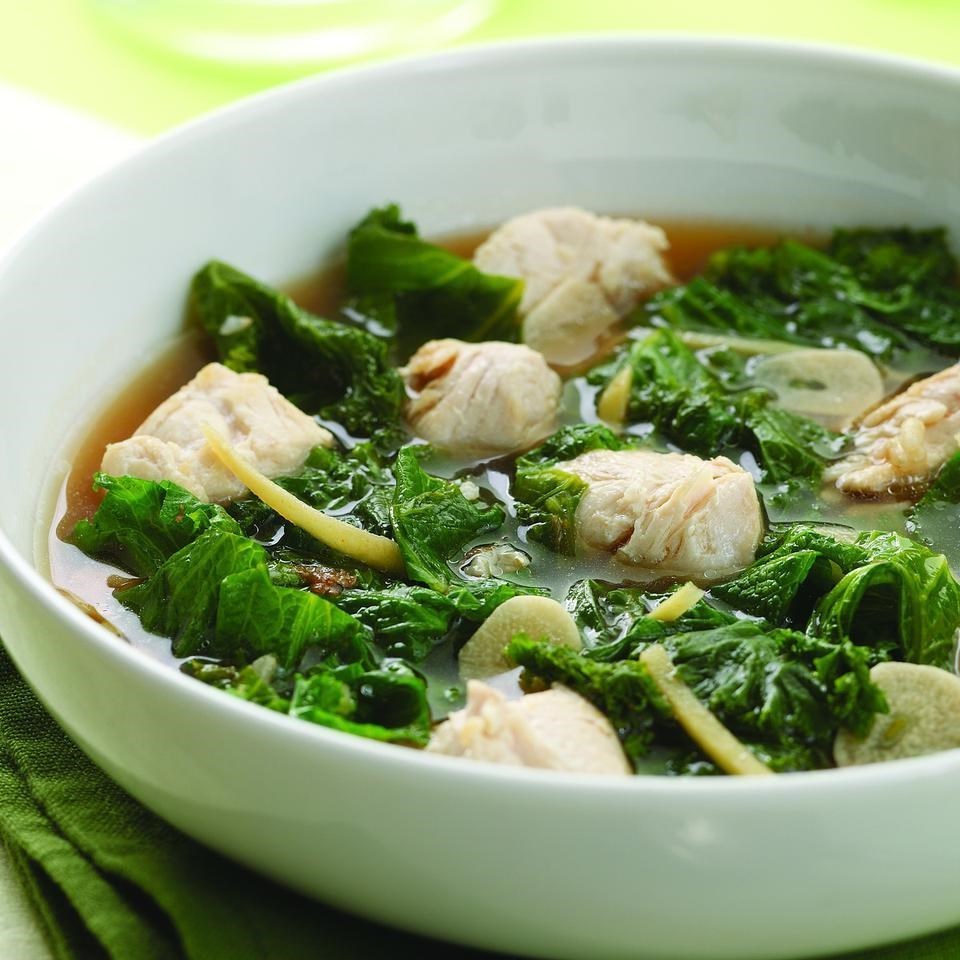 Hawaiian ginger chicken stew for two recipe eatingwell for Different meals to make with chicken