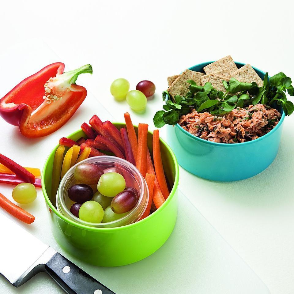 Salmon Salad Bento Lunch