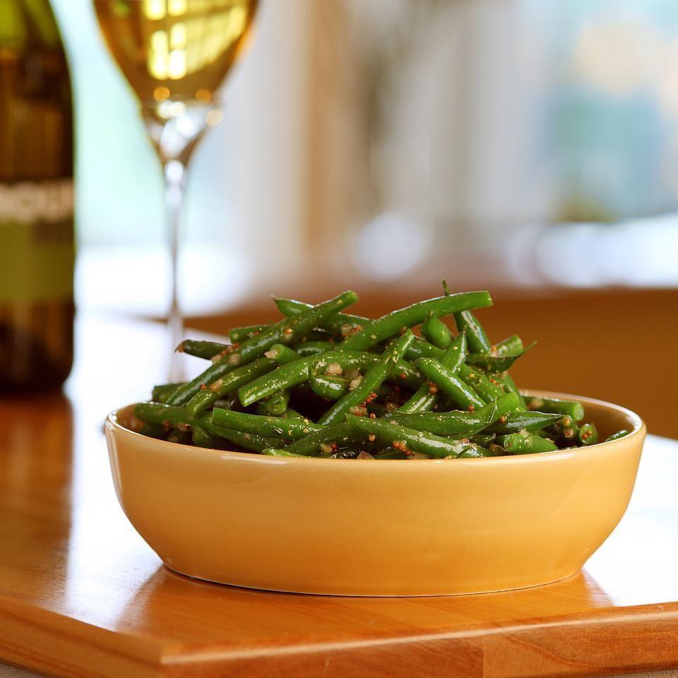 Lemon Dill Green Beans Recipe Eatingwell
