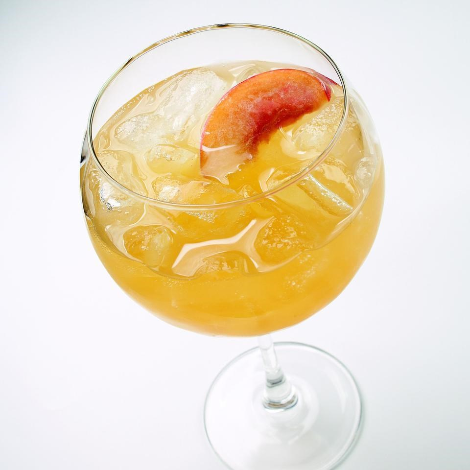 Peach Wine Cooler Recipe Eatingwell