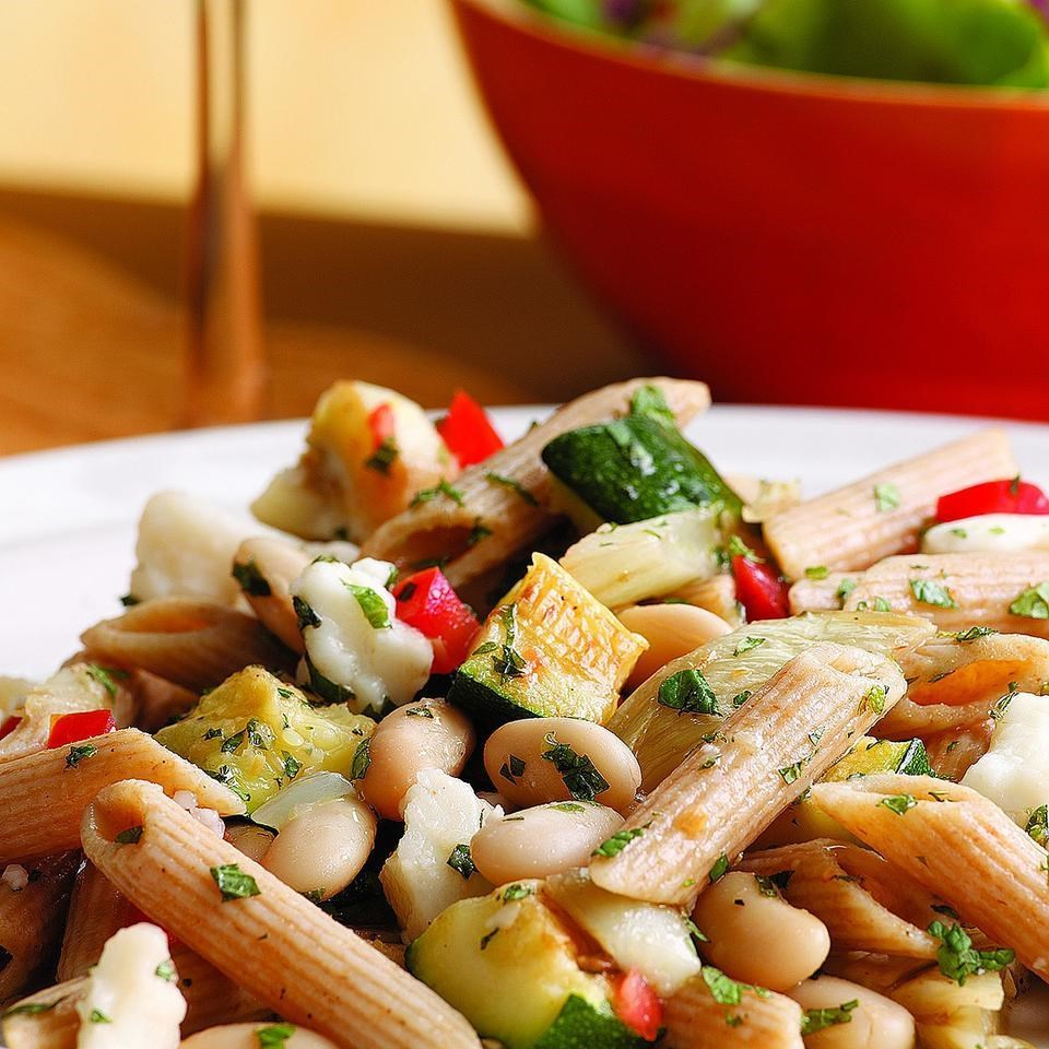 Zucchini, Fennel & White Bean Pasta