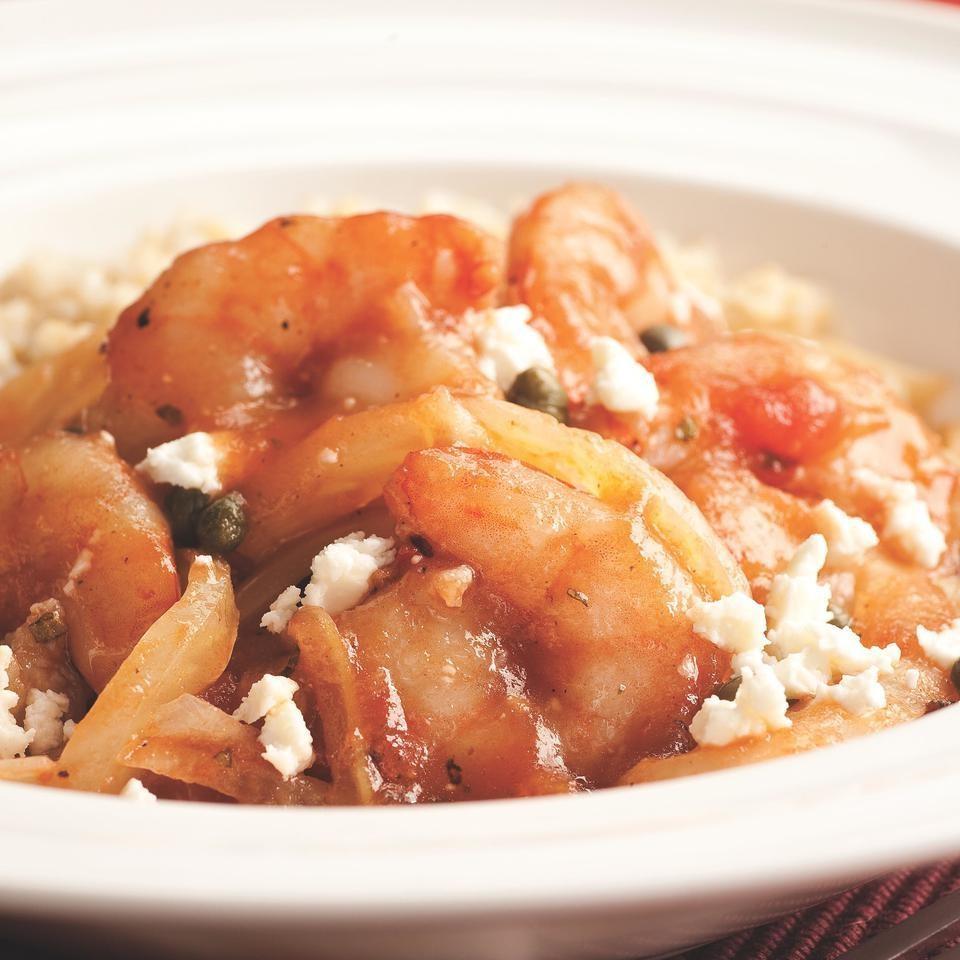 Mediterranean Sauteed Shrimp & Fennel