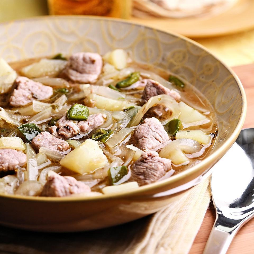 Quick Pork & Chile Stew Recipe - EatingWell.com