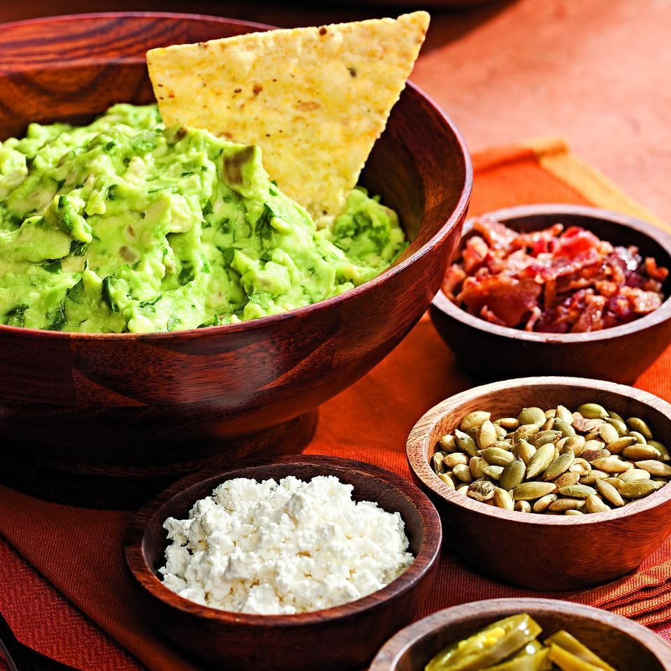 Guacamole With Roasted Garlic Recipe — Dishmaps