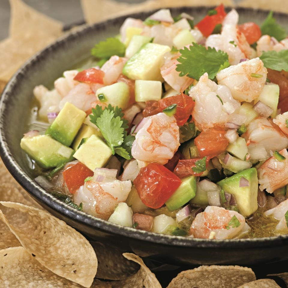 Shrimp ceviche recipe eatingwell for Shrimp and fish ceviche