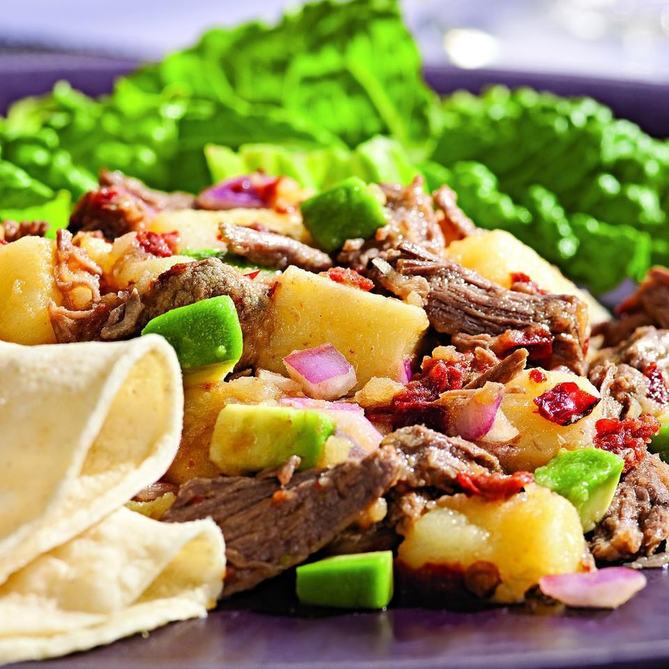 Beef & Potato Salad with Smoky Chipotle