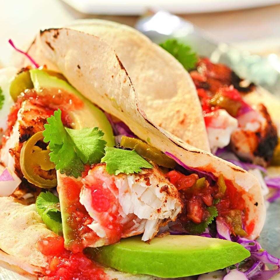 Grilled fish tacos recipe for Fish burrito recipe