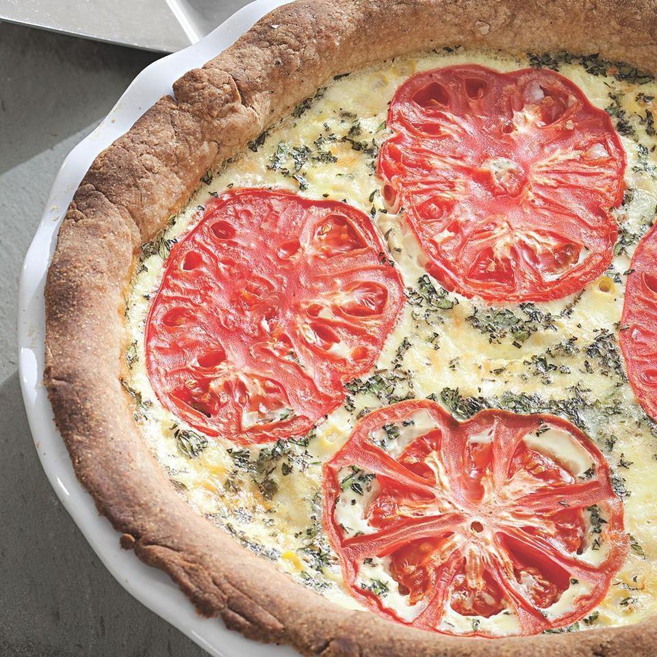 Tomato-Corn Pie