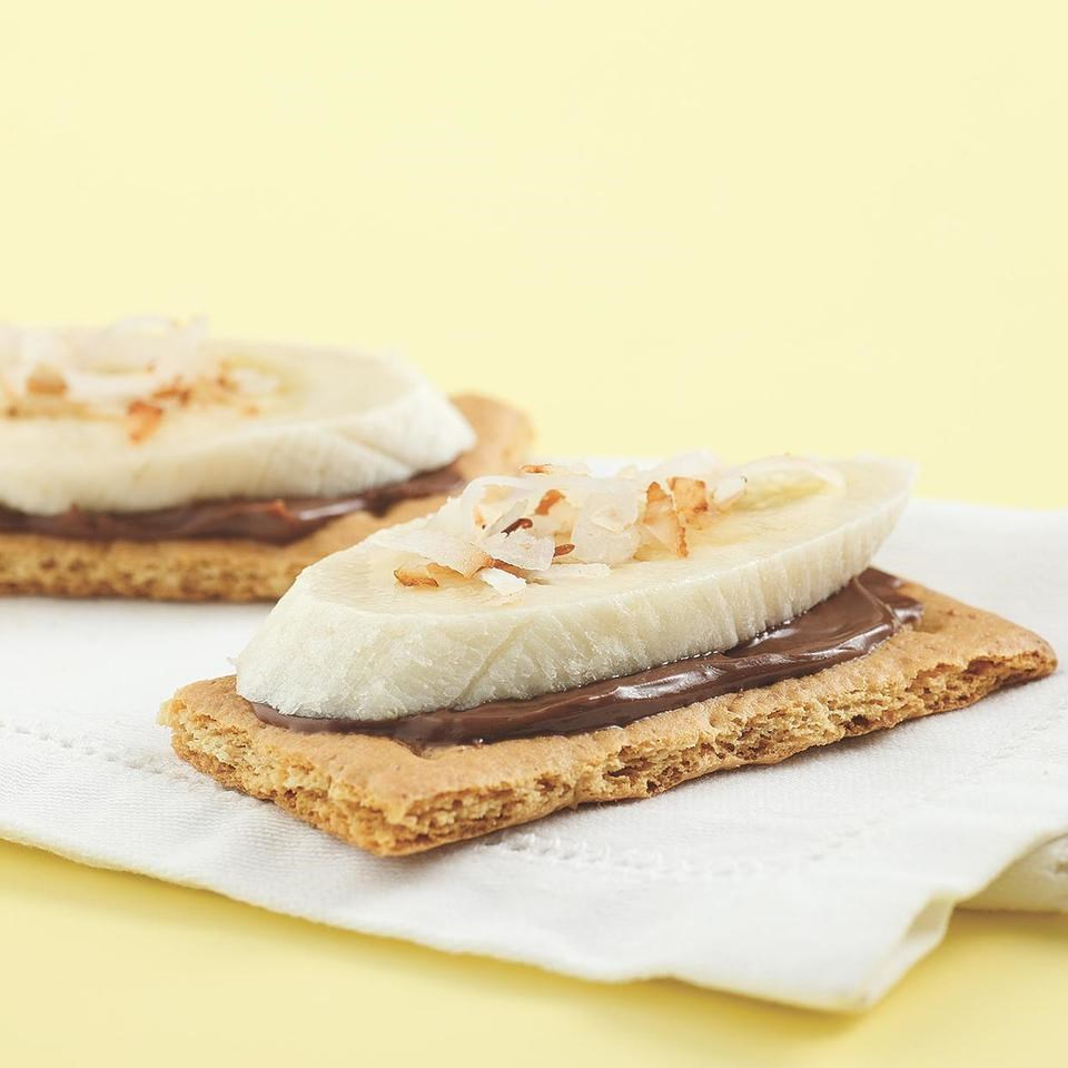 Chocolate-Banana Grahams