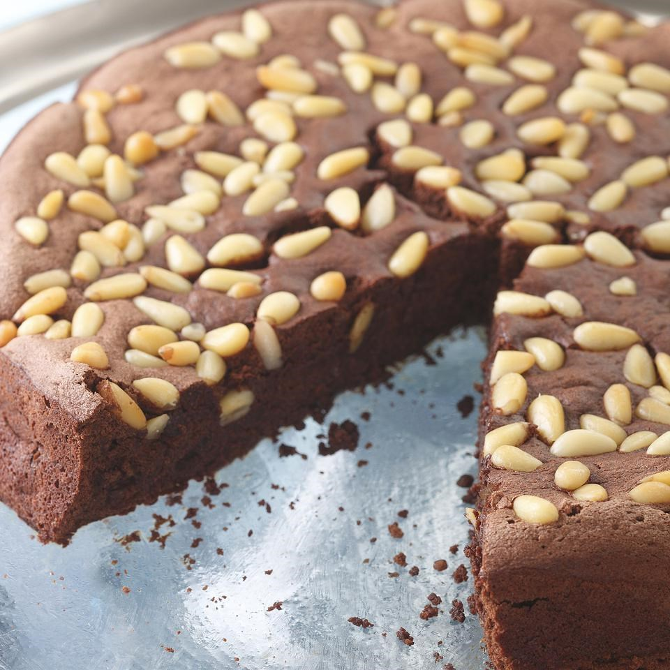 Chocolate & Pine Nut Torte