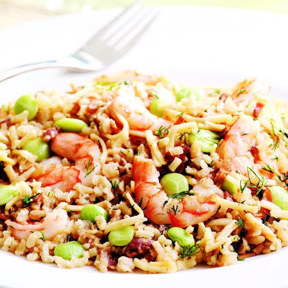 Rice Pilaf with Shrimp