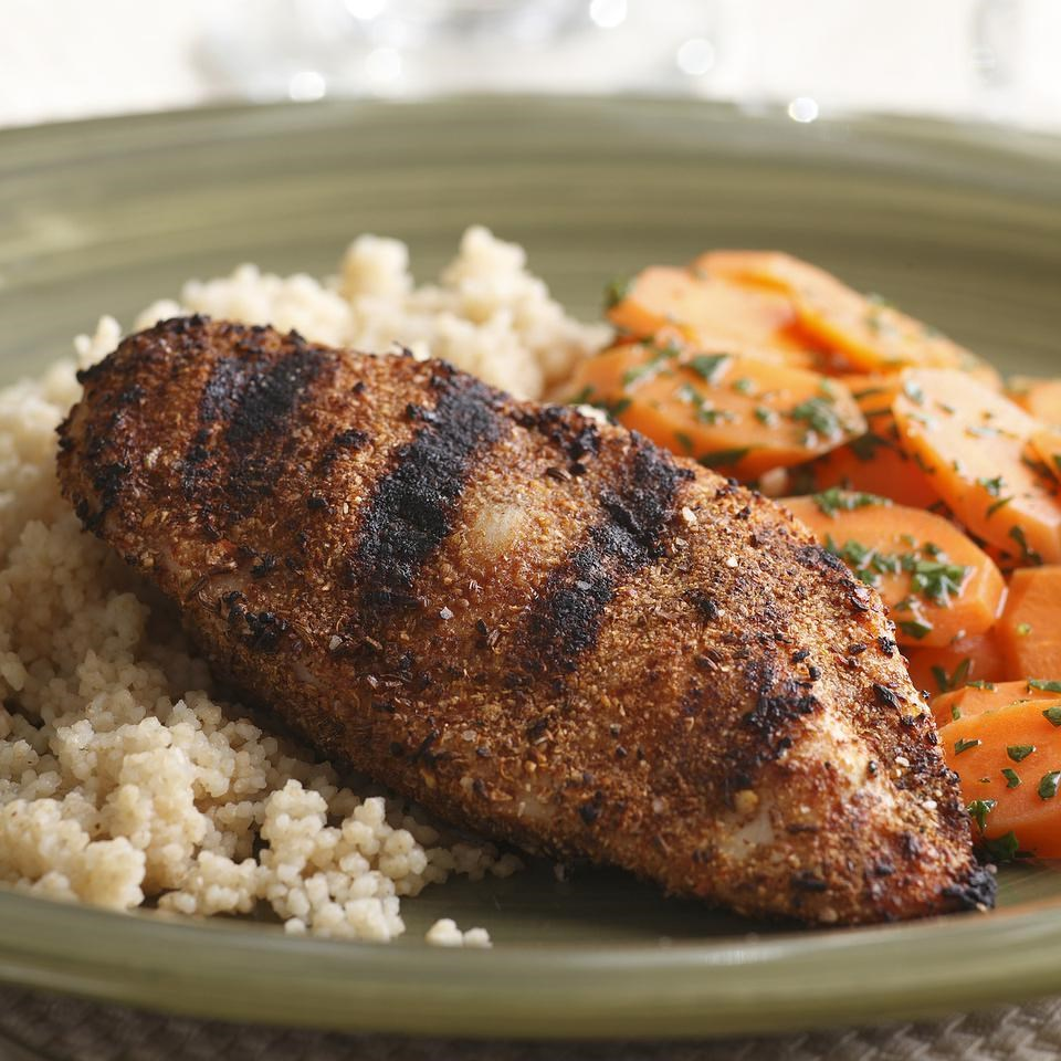 Spicy Tunisian Grilled Chicken