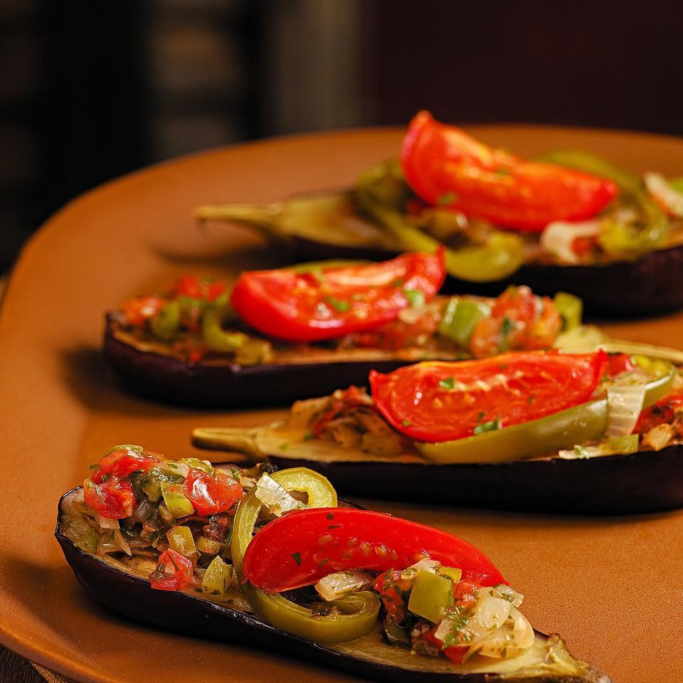 Baked Stuffed Eggplant Recipe