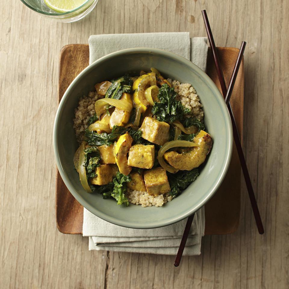 Delicata Squash & Tofu Curry