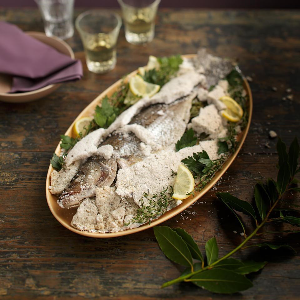 Whole Roasted Fish in a Salt Crust Recipe - EatingWell