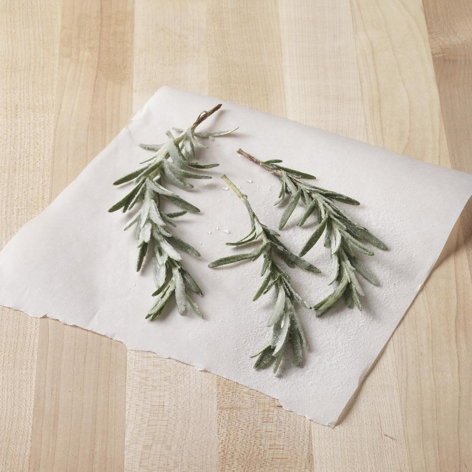 Sugared Rosemary