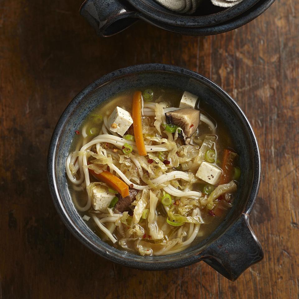 Shiitake & Noodle Hot & Sour Soup