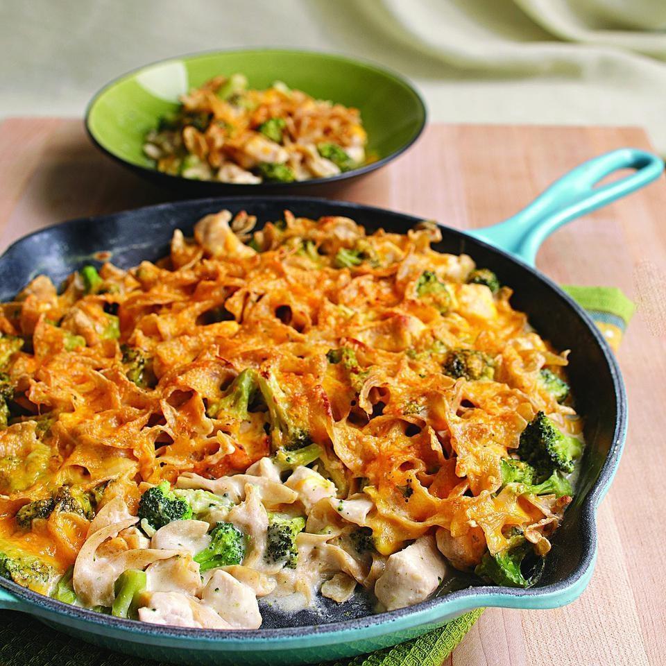 Stovetop Chicken & Broccoli Casserole