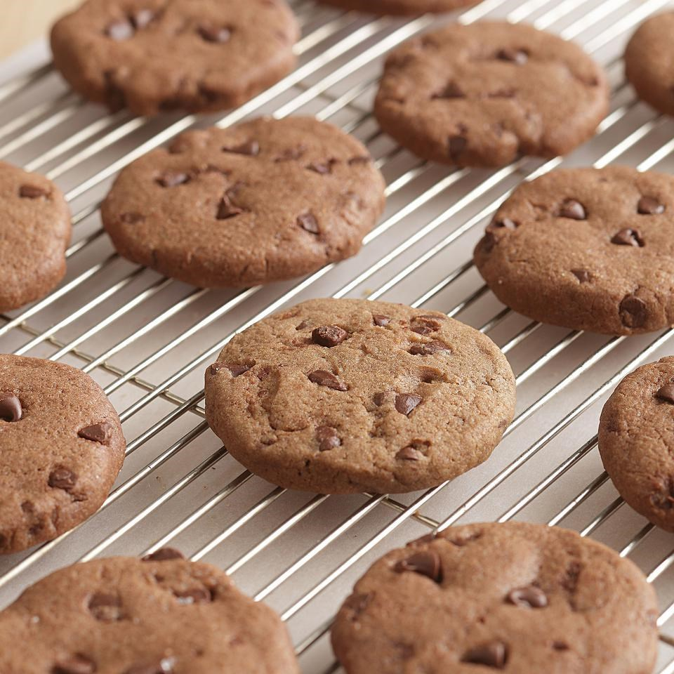 Chocolate-Chocolate Chip Cookies