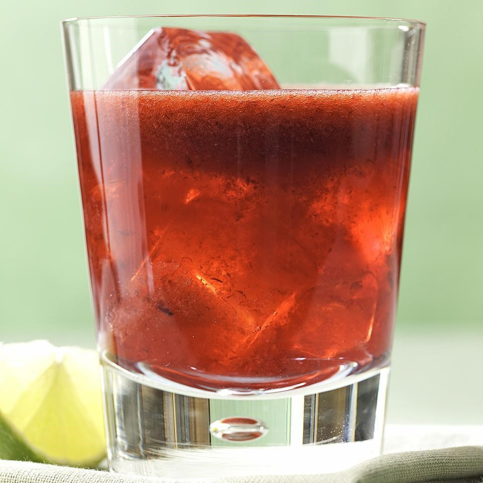 Cherry-Lime Gin Rickey