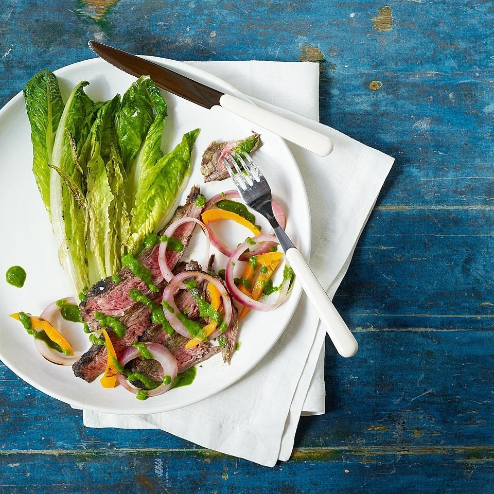 Chimichurri Grilled Steak Salad