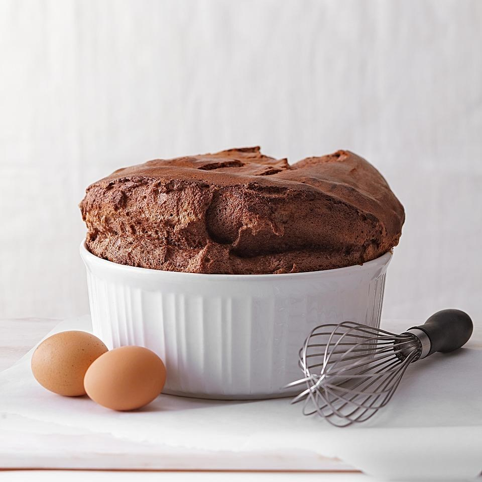 Kahlua & Chocolate Souffle Recipe - EatingWell
