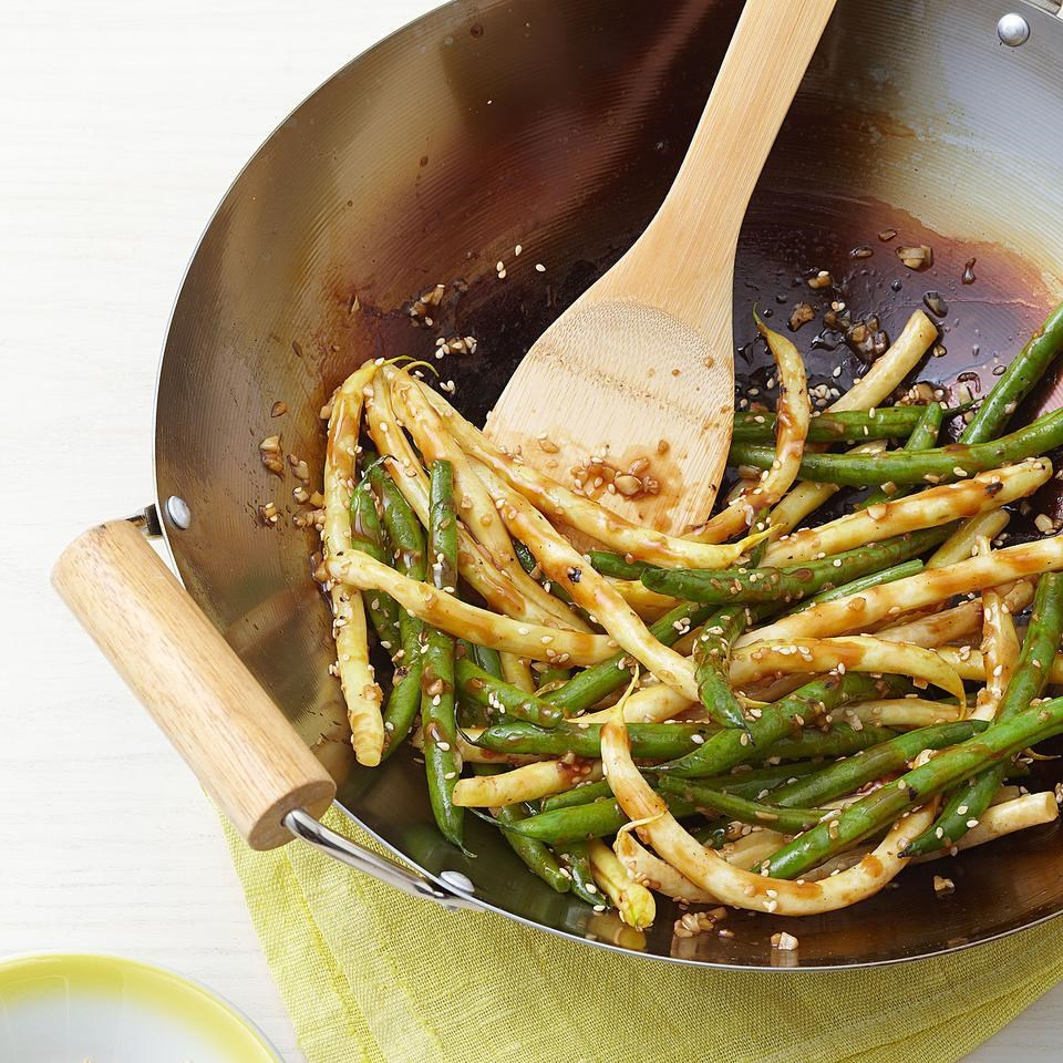 Spicy Stir-Fried String Beans
