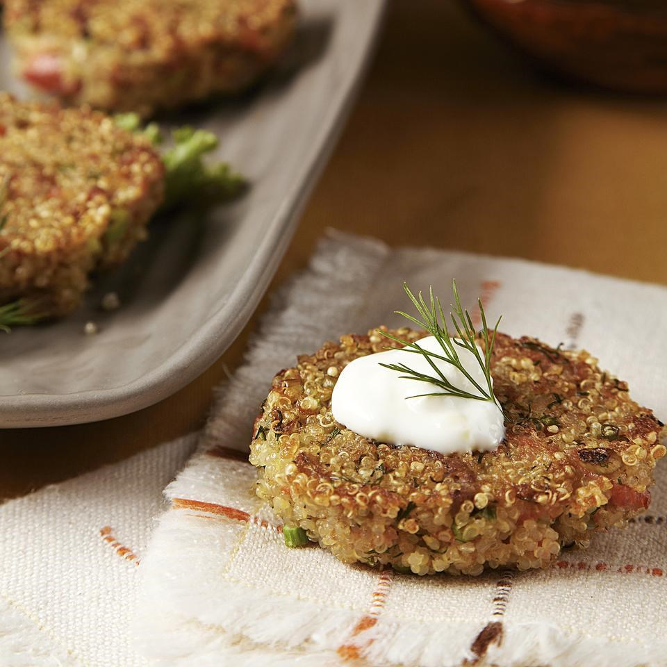 Smoked salmon crab cakes recipe