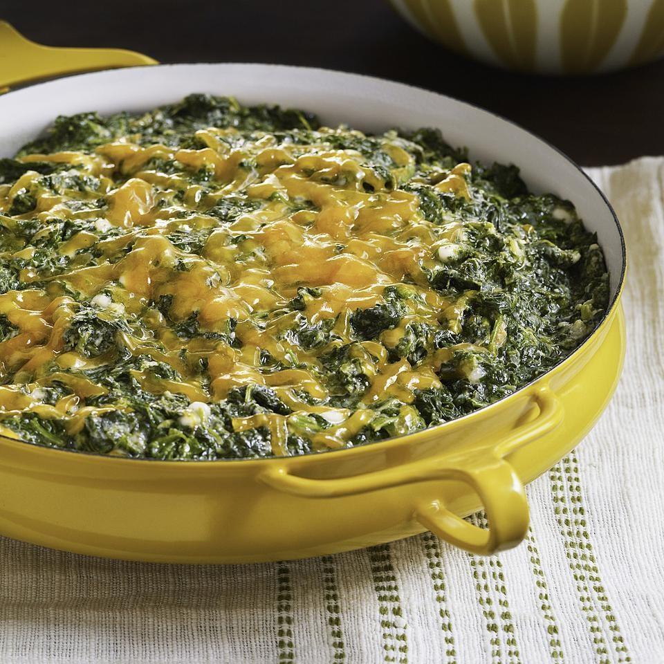 Creamed Spinach Casserole Recipe