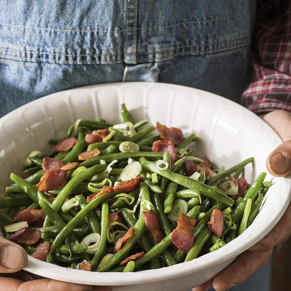 Wilted Green Bean Salad