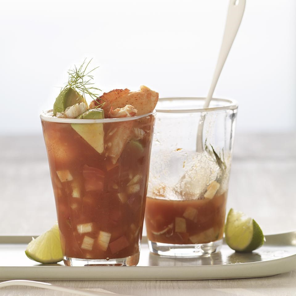Seaside Tomato Gazpacho