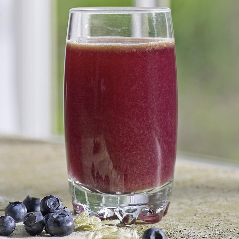 Day 4: Blueberry-Cabbage Power Juice