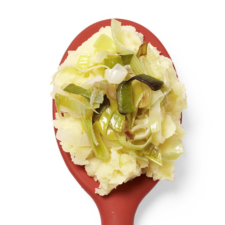 Sauteed Leek Mashed Potatoes