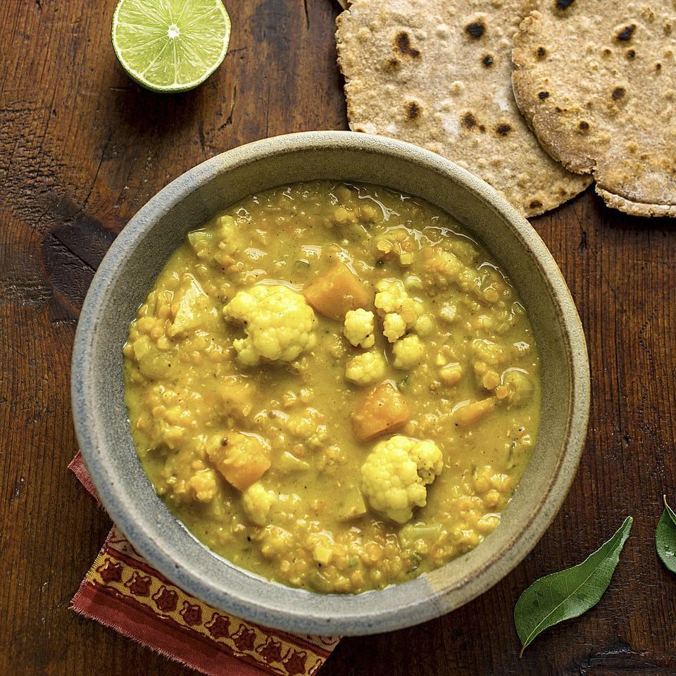 healthy cauliflower recipes eatingwell winter vegetable dal