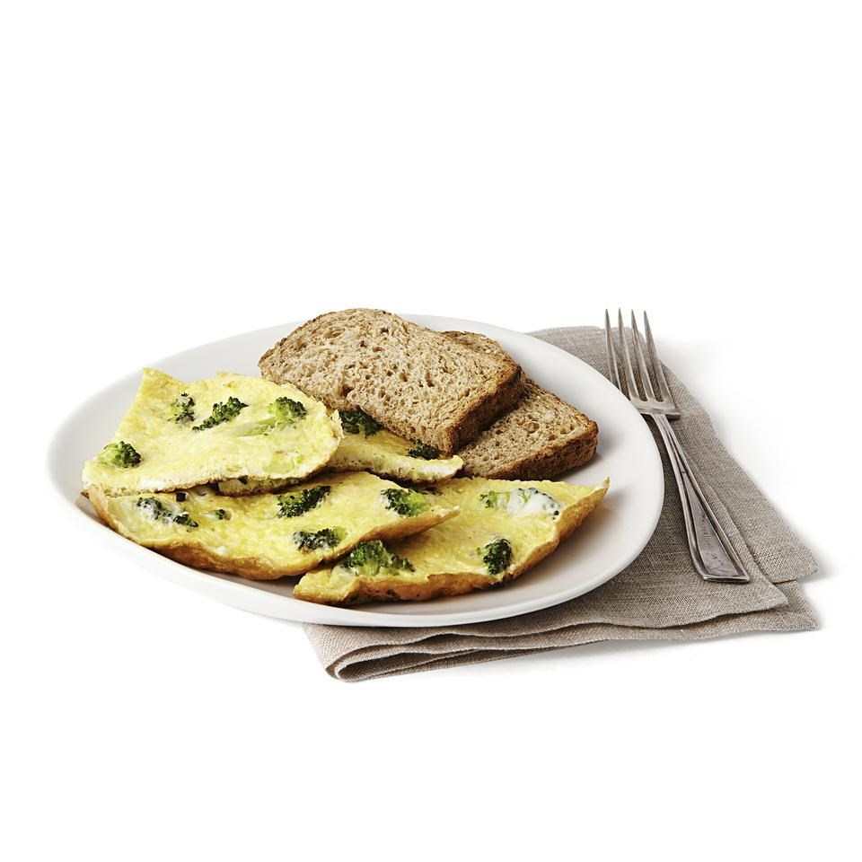 Broccoli & Parmesan Cheese Omelet Recipe - EatingWell.com