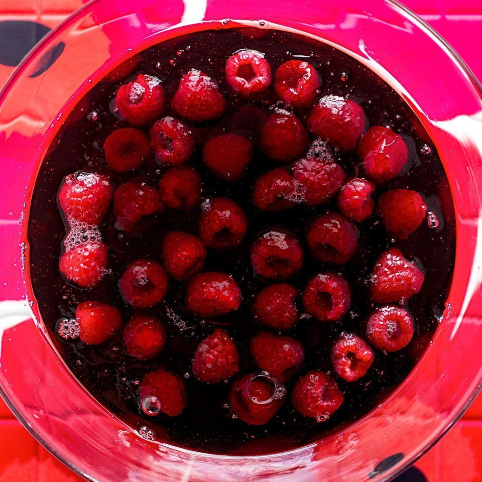 Jellied Raspberries