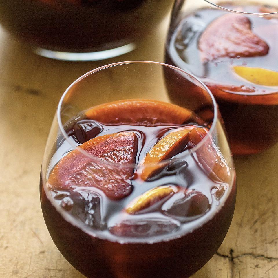 Classic sangria recipe eatingwell for Sangria recipe red wine triple sec