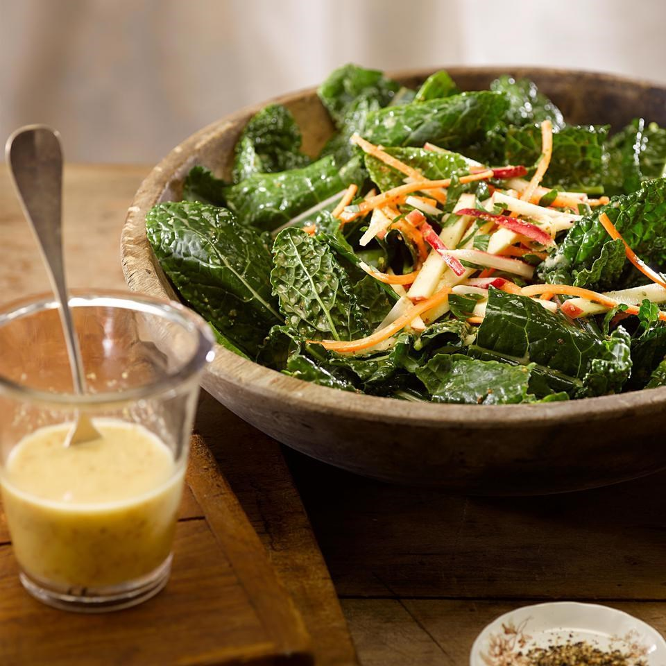 Kale, Carrot and Apple Salad