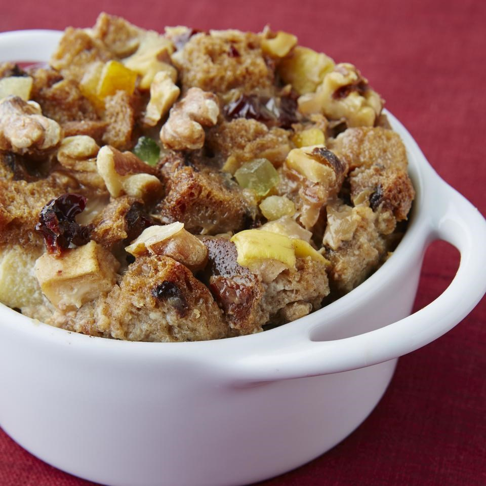 Fruitcake Bread Pudding