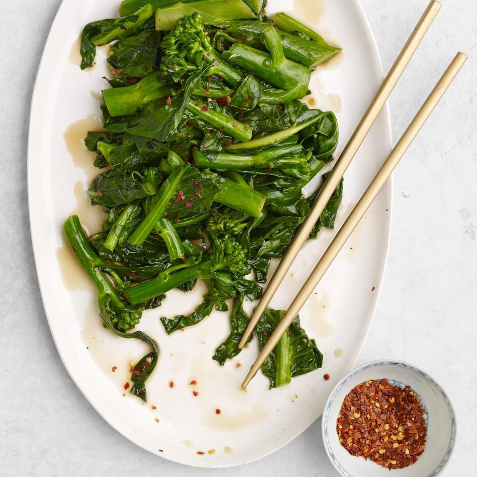 Stir-Fried Chinese Broccoli Recipe - EatingWell