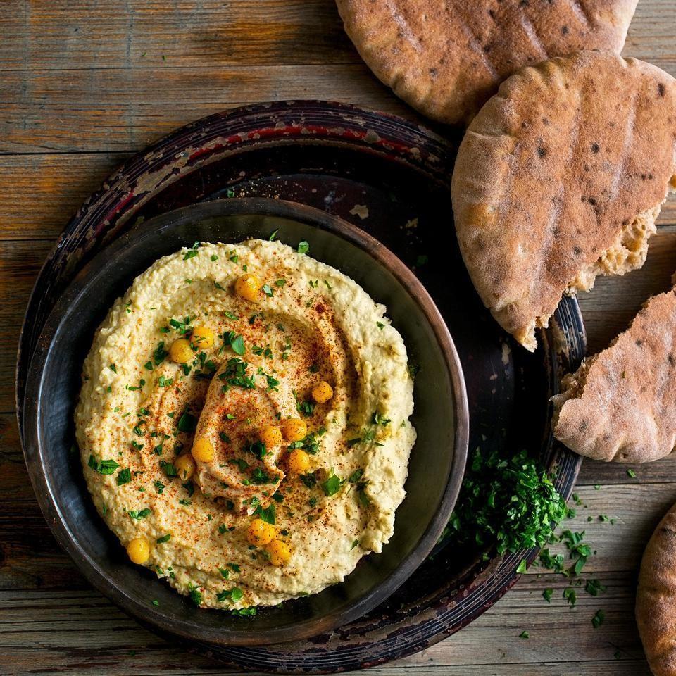 Double-Tahini Hummus