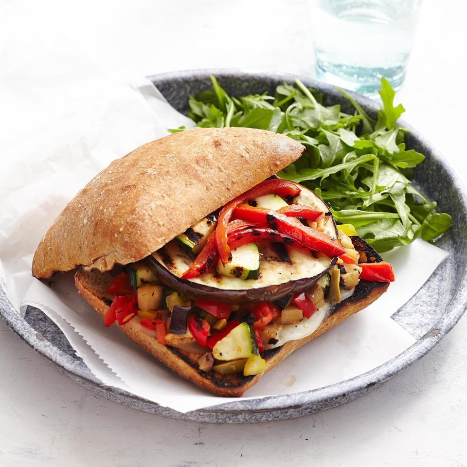 Vegetarian Muffalettas