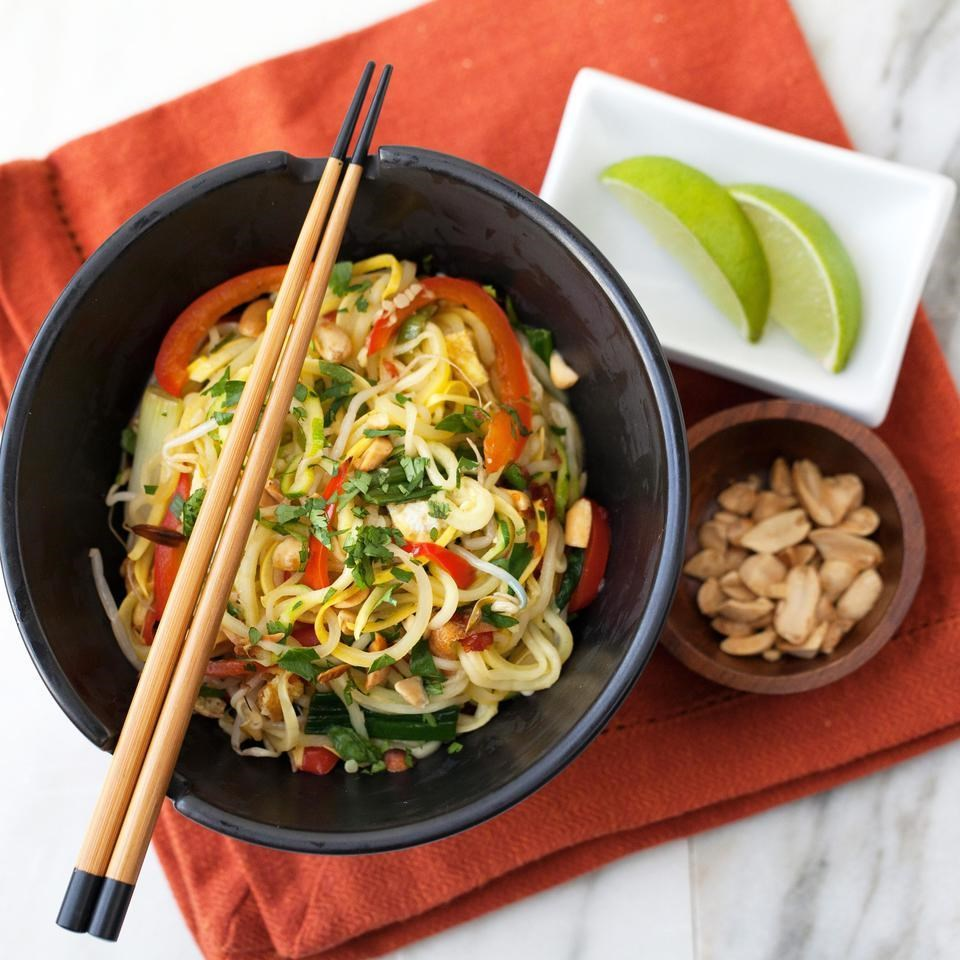 Summer Squash Pad Thai