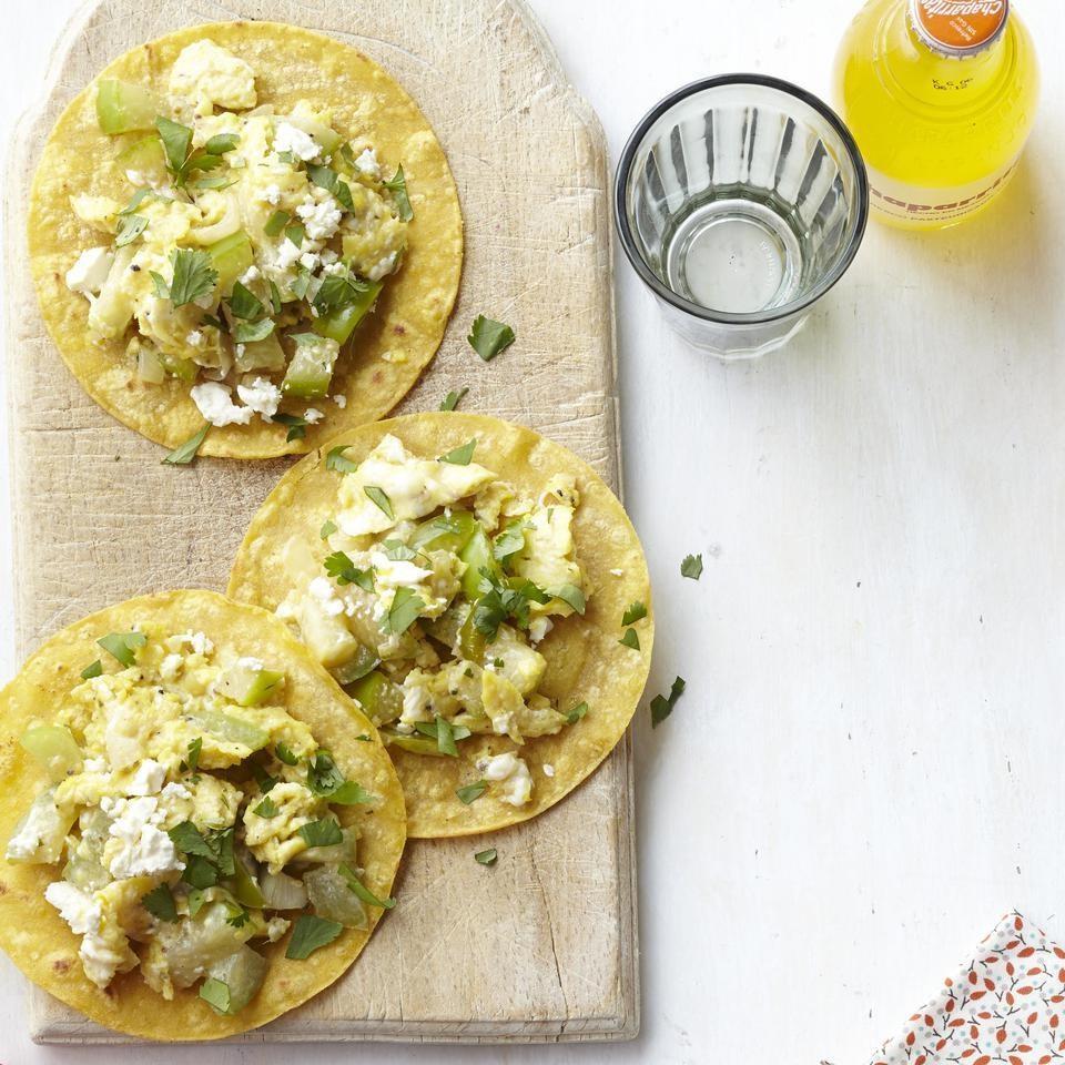 Tomatillo Breakfast Tacos