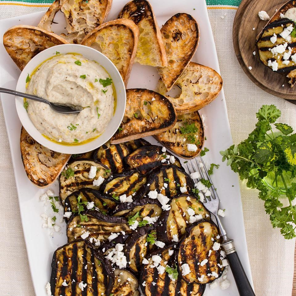 Grilled Eggplant & Baba Ghanoush