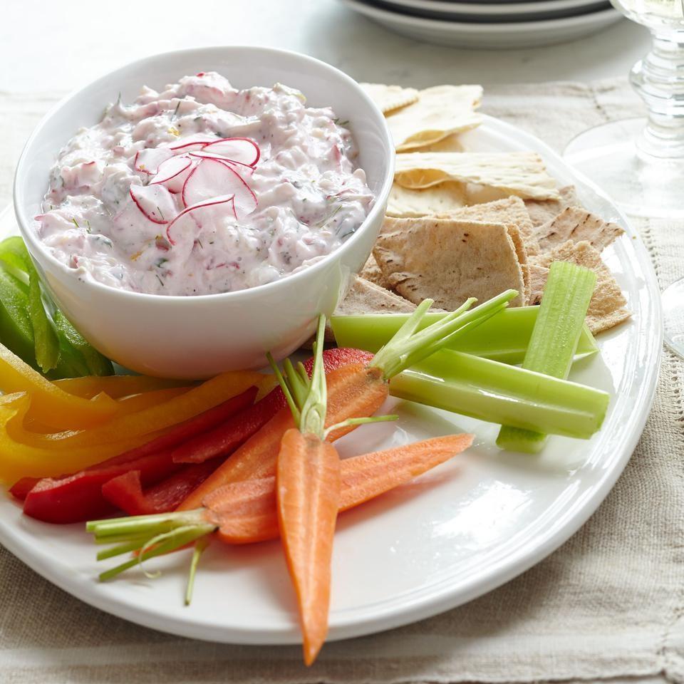 Cucumber & Radish Tzatziki