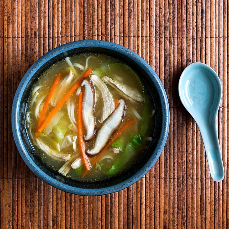 Japanese Chicken Noodle Soup Recipe - EatingWell