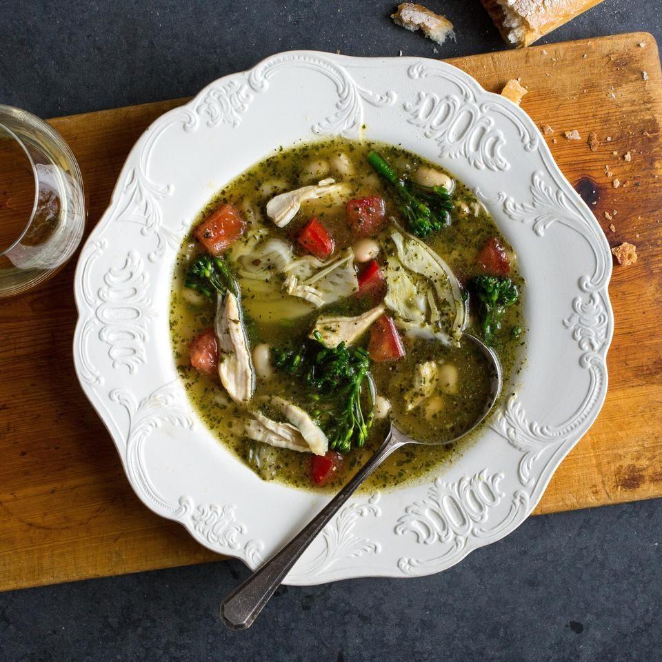foto Pesto White Bean Soup