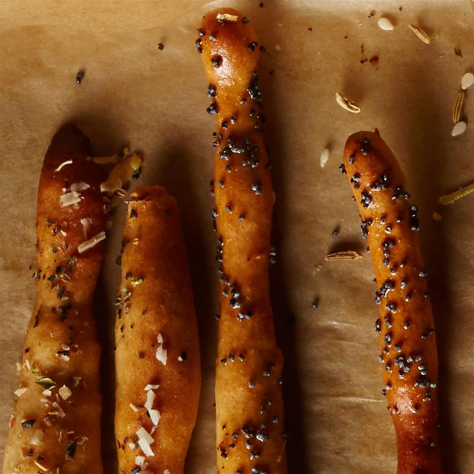 Basil & Parmesan Breadsticks